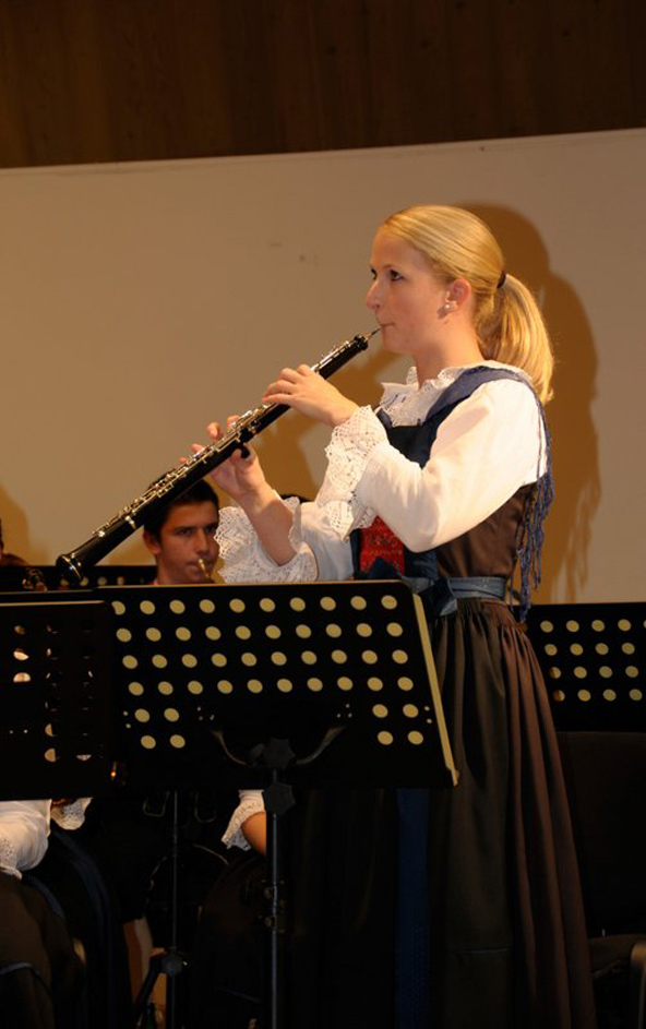 Theresa Steiner wird in bewährter Manier als Oboensolistin fungieren. Foto: SBOD