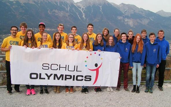 Gruppenfoto mit allen, dieOsttirol bei der Schüler-Bundesmeisterschaft in Innsbruck vertraten.