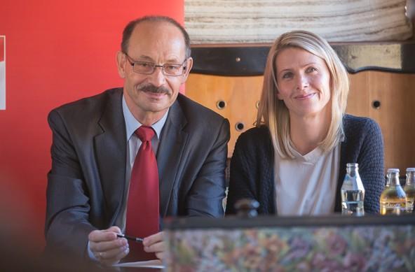Echte Überraschungskandidatinnen sind die Polizistin Jeannette Mair auf Platz 4 der SPÖ-Liste.