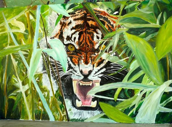 Der Tiger wird nicht verkauft, sondern am 12. November ab 16.30 Uhr im Pausensaal des Gymnasiums versteigert.