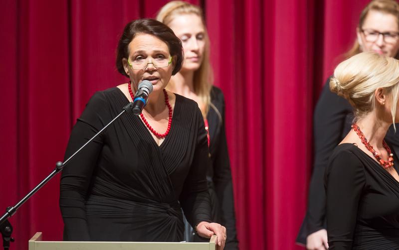 Obfrau Inge Rumpl-Krismer freute sich über den anhaltenden Erfolg des Chores.