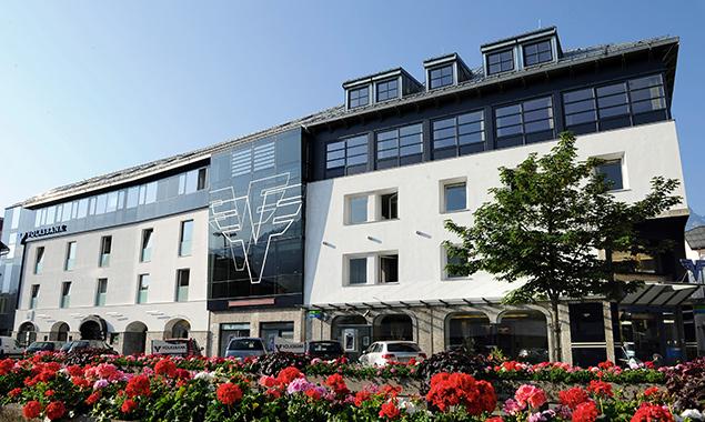 Aus der Volksbank Osttirol-Westkärnten wurde die DolomitenBank. Foto: Volksbank
