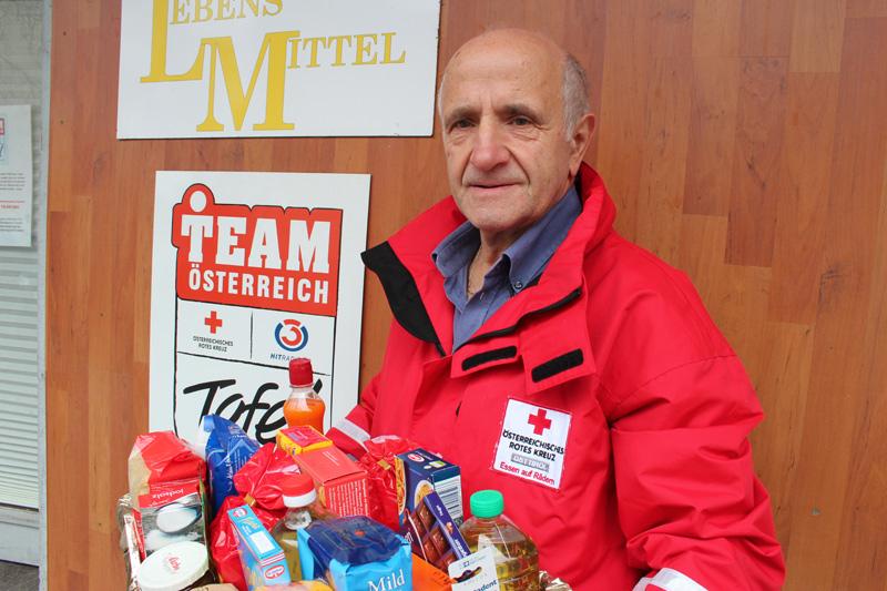 Mit der Weihnachtspakete-Aktion konnten Familien und Einzelpersonen, die sich in einer Notlage befinden, unterstützt werden. Foto: Rotes Kreuz