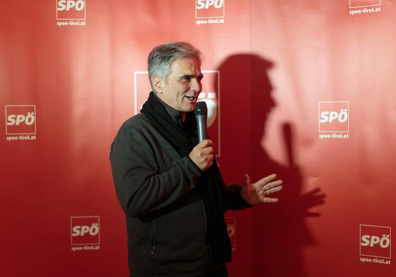 Werner Faymann: Einstimmung der Parteigenossen auf die ParteisekretärInnenkonferenz.