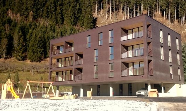 """Die Wohnanlage """"Thal Schmelzanger"""" wurde schlüsselfertig übergeben. Insgesamt sind 27 Wohnungen in drei Baustufen geplant. Fotos: OSG"""