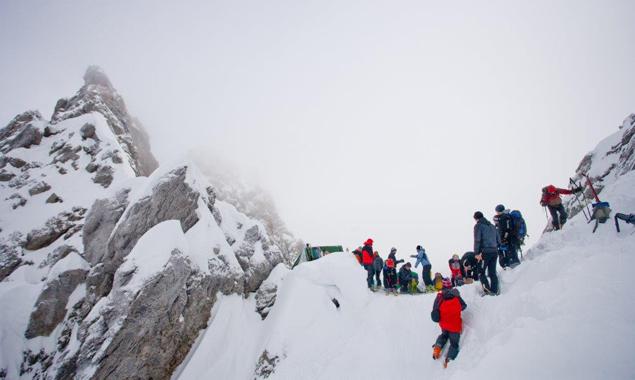 2.497 Meter hoch liegt das zu bewältigende Laserztörl. Fotos: Martin Lugger/Alpenraute