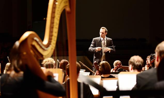 """MIt """"Joy to the world 2015"""" stimmt das Stadtorchester Lienz auf Weihnachten ein. Foto: Armin Bodner"""