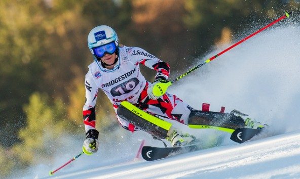 Carmen Thalmann aus Berg im Drautal war beim Slalom im Lienz die beste österreichische Läuferin. Fotos: EXPA/Michael Gruber
