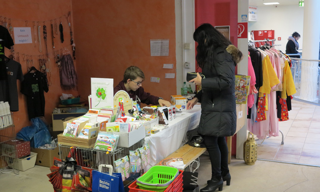 Noch bis 23. Dezember hat der Flohmarkt im Citycenter geöffnet.