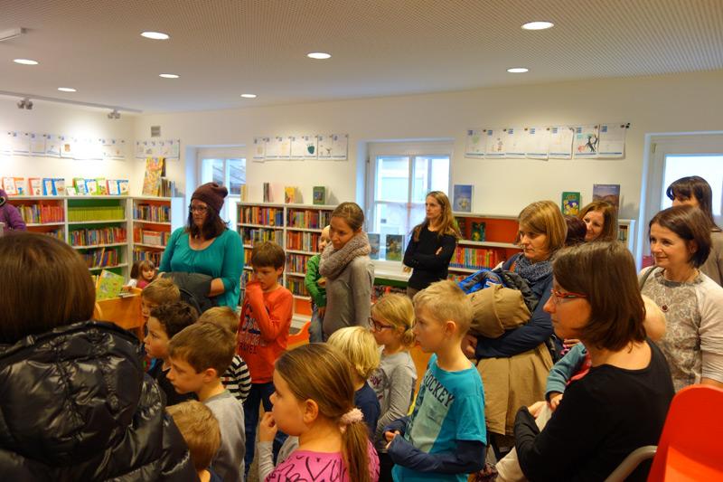 Nicht nur die Kinder freuten sich über die Geschichten von Astrid Lindgren.