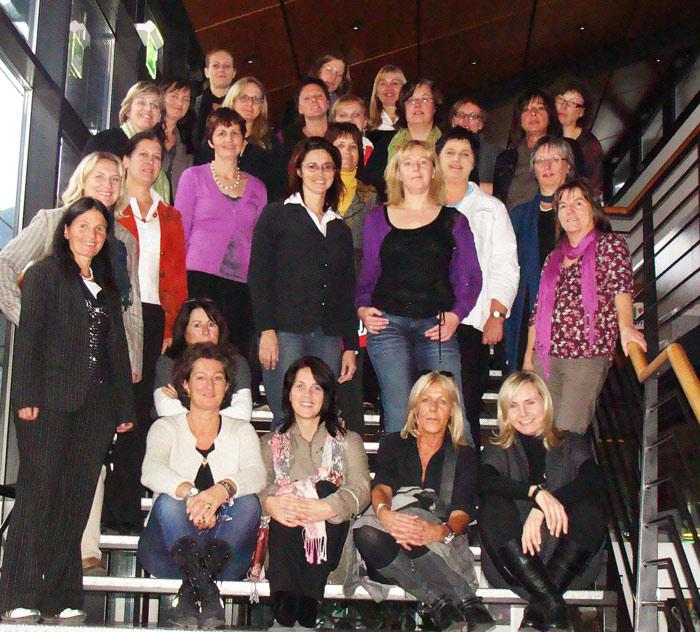 Einige der Teilnehmerinnen des letzten Kurses gingen danach in die Politik. Foto: RMO