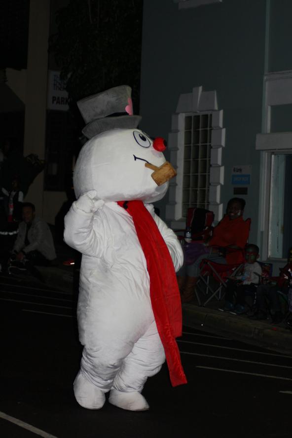 Für einen Schneemann braucht man nicht unbedingt Schnee ...
