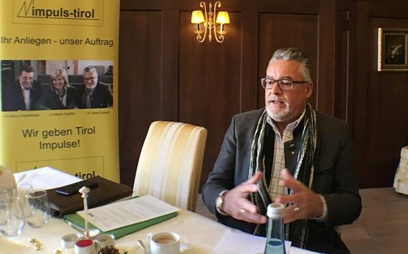 Sepp Schett kritisiert das Engagement der Osttiroler Investment GmbH bei den Kalser Bergbahnen und verlangt Aufklärung. Foto: Dolomitenstadt/Pirkner