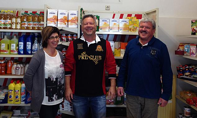 Silvia Kilzer, Charly Kashofer und Walter Hofer haben den Ehrgeiz, wirtschaftlich Schwächeren gute Lebensmittel billig zu verkaufen.