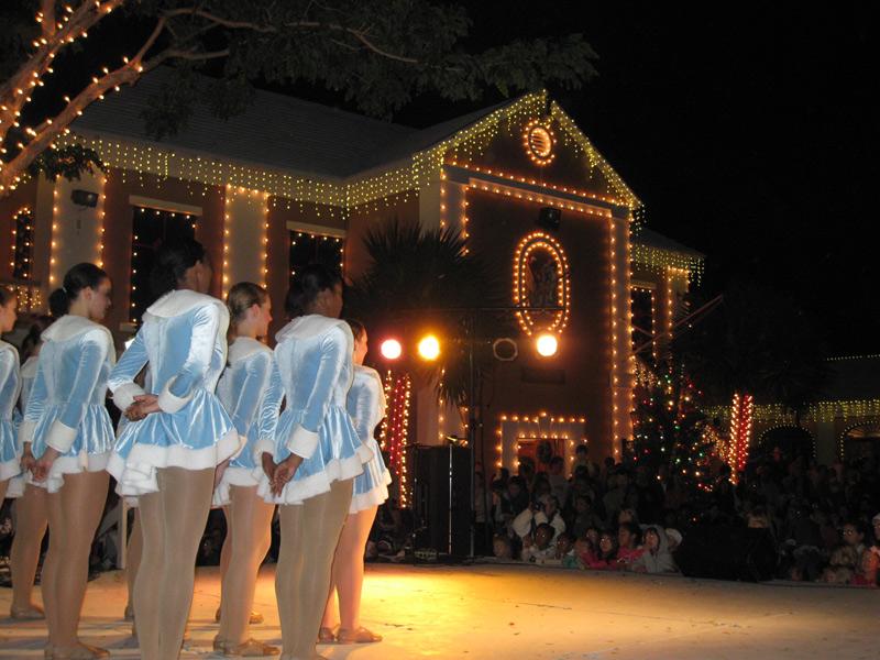 In St. George, der ehemaligen Hauptstadt, erinnert Weihnachten noch eher an das Fest in Europa.