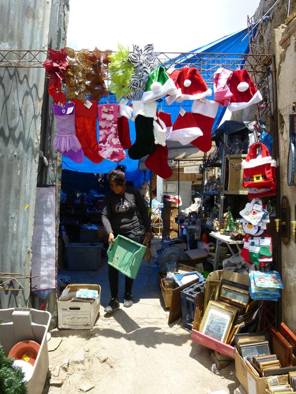 Auch in Cochabamba läufen die letzten Vorbereitungen auf das Fest.