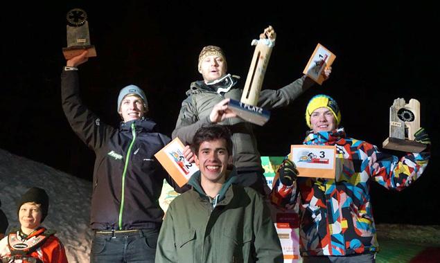Die drei Gewinner (v.l.): Fabio Wibmer, Christian Altendorfer und Florian Lerchbaumer.