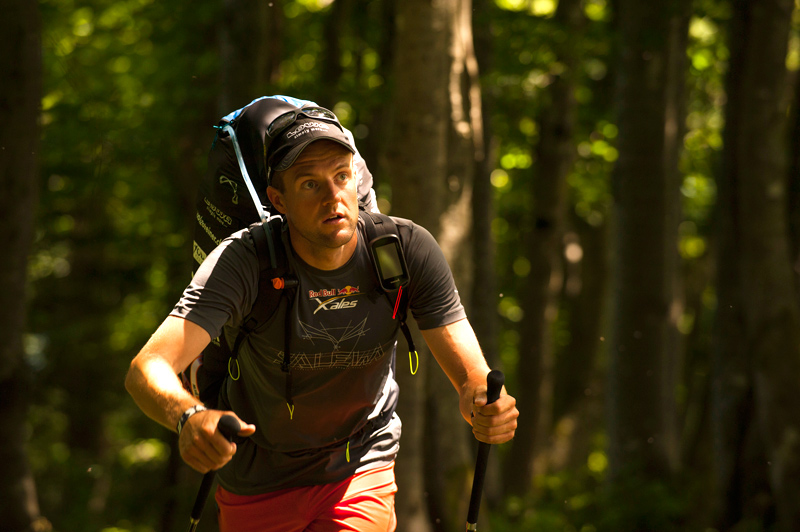Red Bull X-Alps 2015: Christian Maurer am Gaisberg (Foto: Felix Woelk/Red Bull Content Pool)