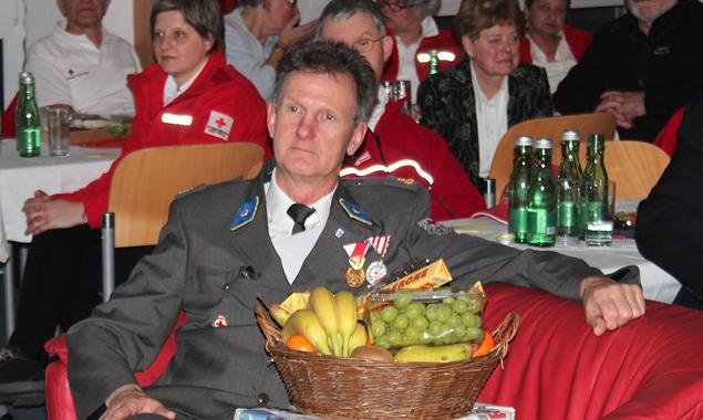 Der scheidende Ortsstellenleiter Bernhard Steiner
