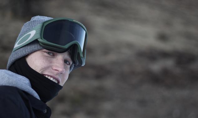 Viktor Moosmann liebte das Skifahren schon immer. Ganz besonders der Freestyle lässt ihn schon lange nicht los. Foto: Marco Notter