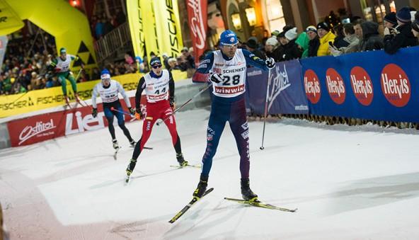 Er lief locker ins Finale, hatte dann aber Pech: Andy Newell. Fotos: Expa/Gruber