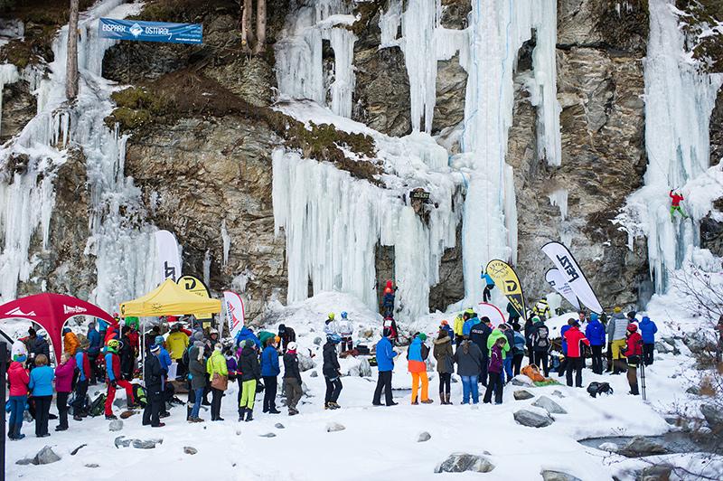 Großer Andrang beim 1. Osttiroler Eisfestival.