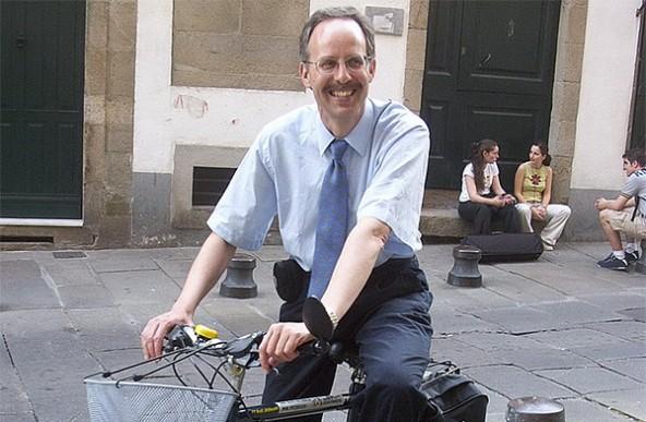 Michael Meschik ist nicht nur akademischer Verkehrsexperte, sondern selbst auch begeisterter Radler. Foto: ooe.radlobby.at