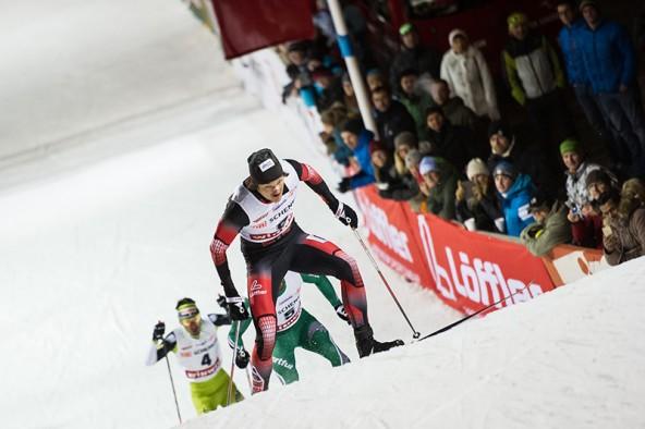 Tobias Habenicht war Dominator bis zum letzten Sprung – und stürzte. Das bedeutete Platz 3.