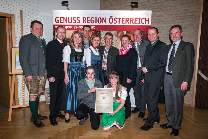LLA Lienz als GenussSchule ausgezeichnet.