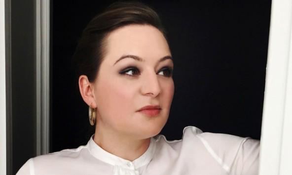 Yvonne Manfreda, Mezzosopranistin mit Osttiroler Wurzeln.