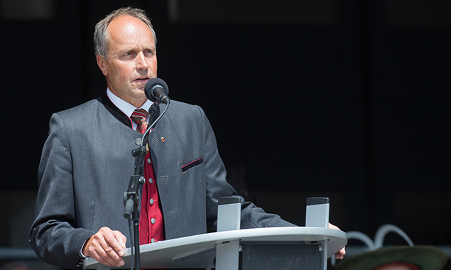 Anton Brunner, alter und neuer Bürgermeister in Abfaltersbach. Foto: Brunner Images