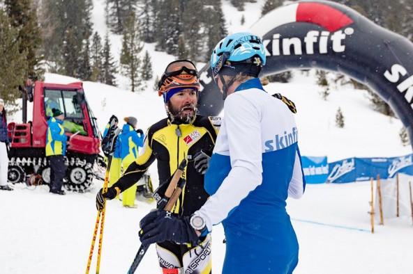 Filippo Beccari trotzte dem teilweise unfreundlichen Wetter und war als erster am Obersee. Fotos: GSG