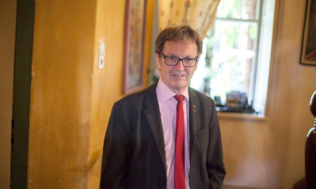 Bürgermeister Georg Hofmann regiert ohne Mehrheit. (Foto: Peter Leiter)