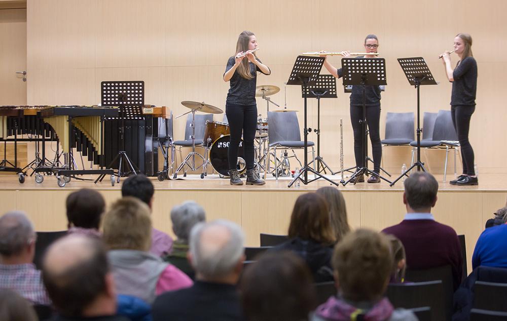 Querflötenmusik vom Feinsten – Trio Amabile.
