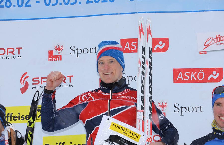 Bei den Herren gewann der 30-jährige Norweger Lars Moholdt den Titel über die Sprintdistanz.
