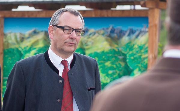 Ludwig Pedarnig, der alte und neue Bürgermeister der Gemeinde Schlaiten. Foto: Brunner Images