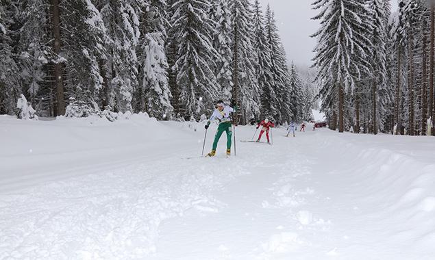 Start der Ski-Orientierungslauf-Europameisterschaft in Obertilliach/Osttirol