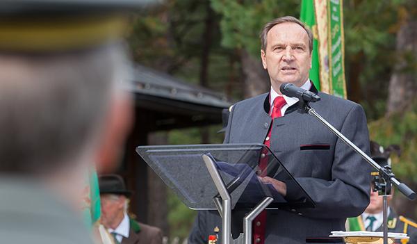 Oswald Kuenz, der alte und neue Bürgermeister von Lavant.