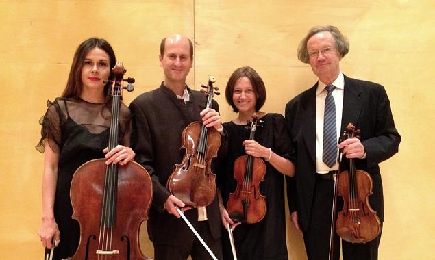 Quartett der Südtiroler Streicherakademie