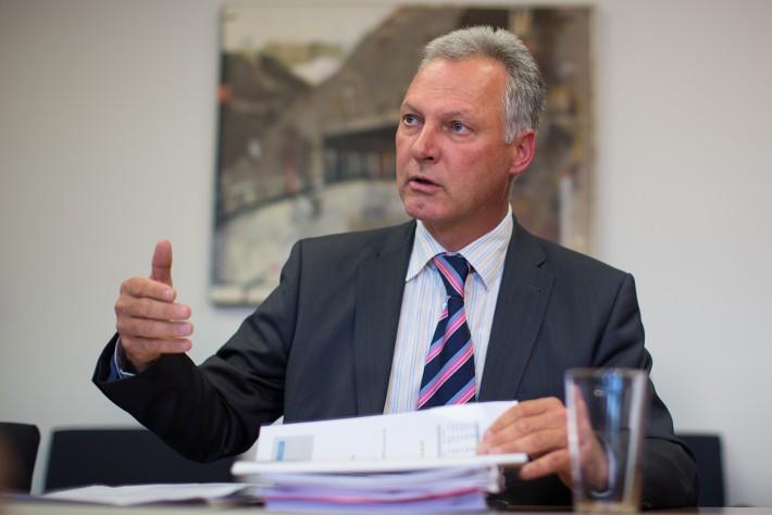 Karl Poppeller, Vorstand FAG und Geschäftsführer OIG