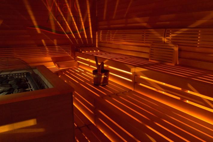 Ein Saunabesuch kann bei Pollenalarm Linderung verschaffen. Foto: Vital Agunt